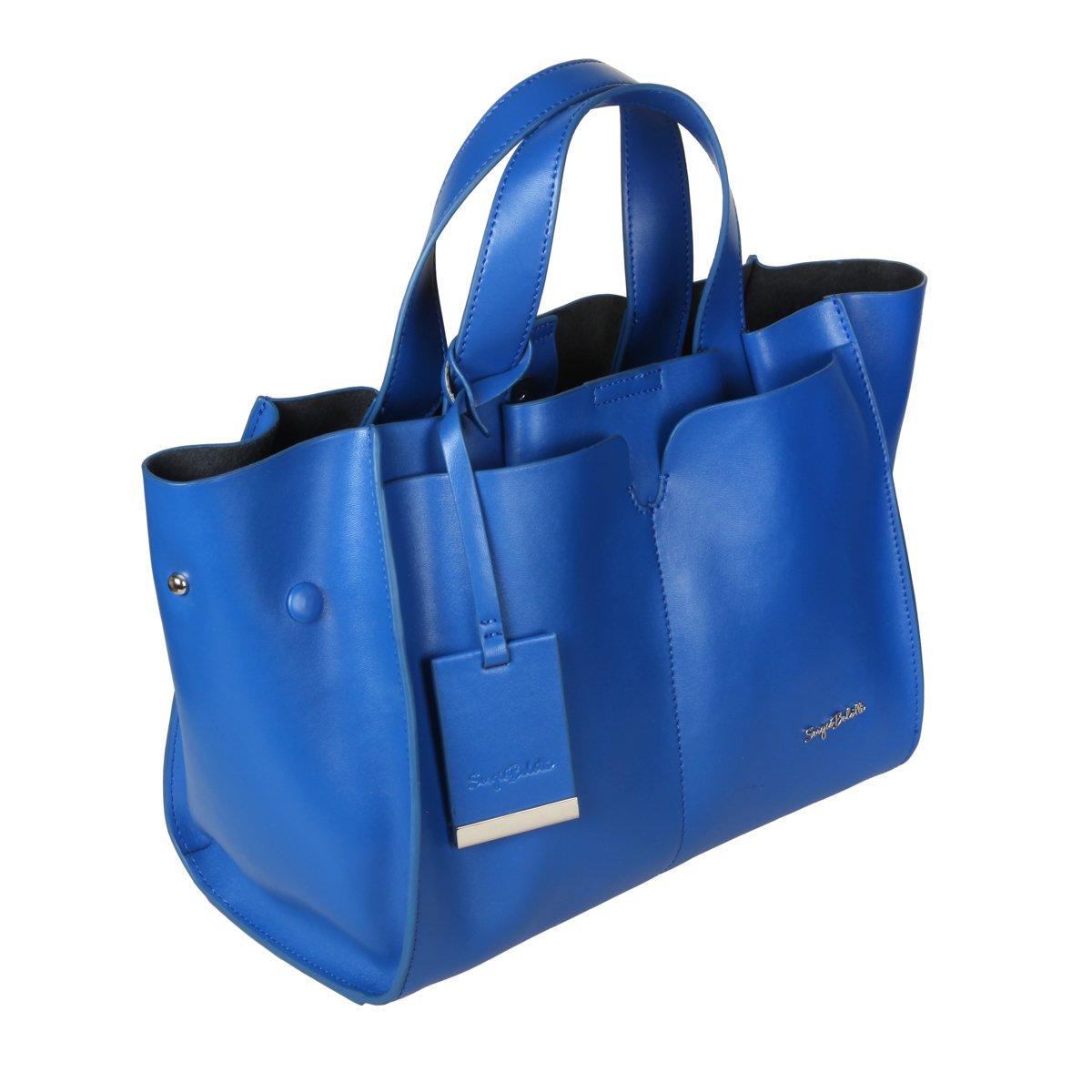 3ba7efe496ed Сумка Sergio Belotti 28 blue, 44x23.5 см, натуральная кожа, цвет ...