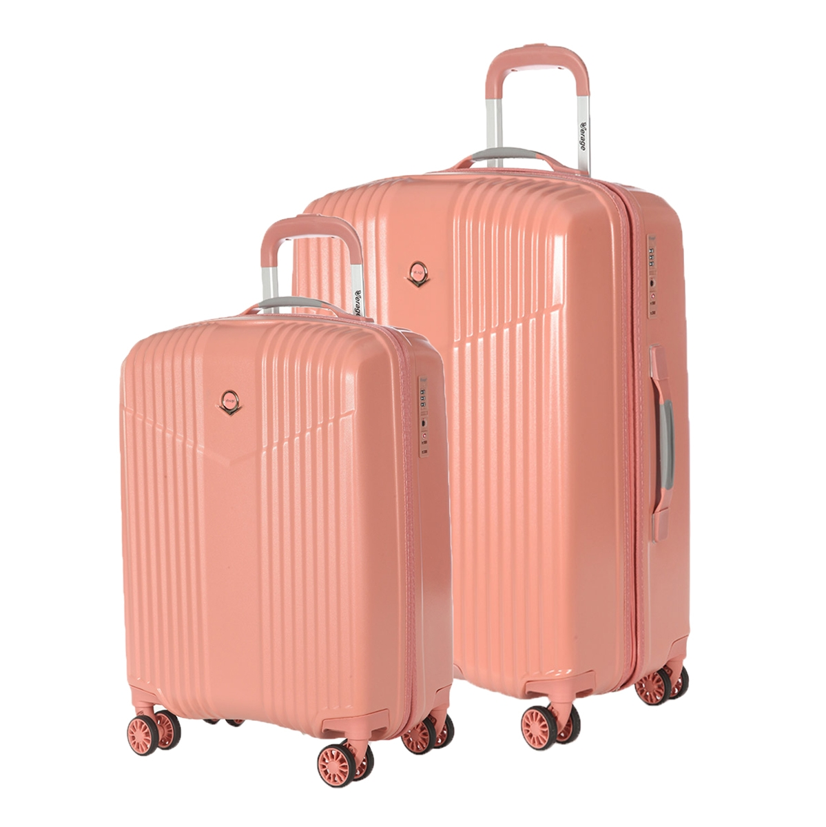 Комплект Чемоданов Verage GM17072W 19/24 coral pink