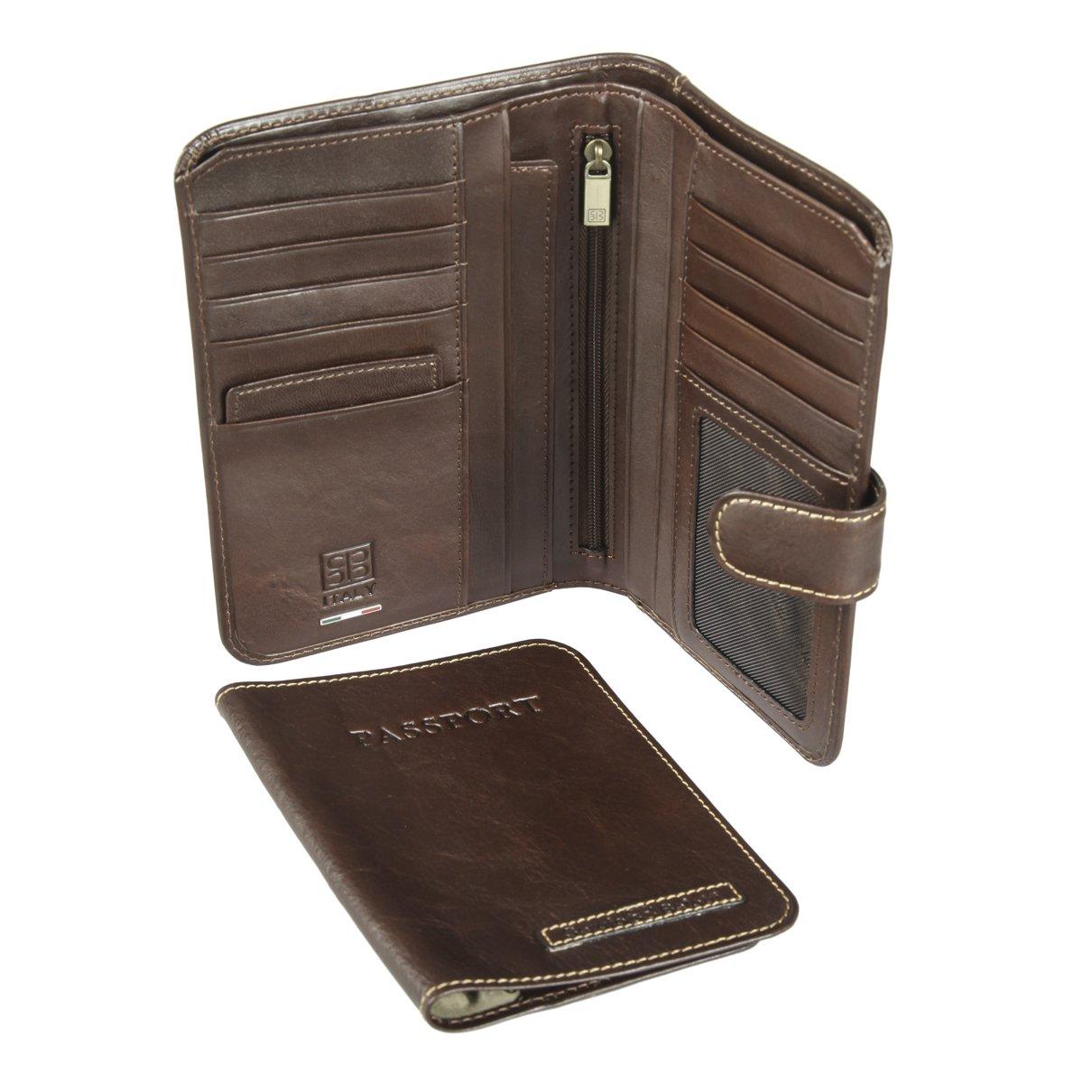 15d7f0dd7299 2334 ancona brown Портмоне с обложкой для паспорта Sergio Belotti — доп.  фото №3
